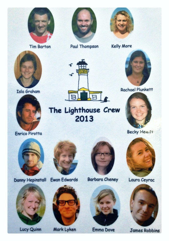 The Lighthouse Crew 2013