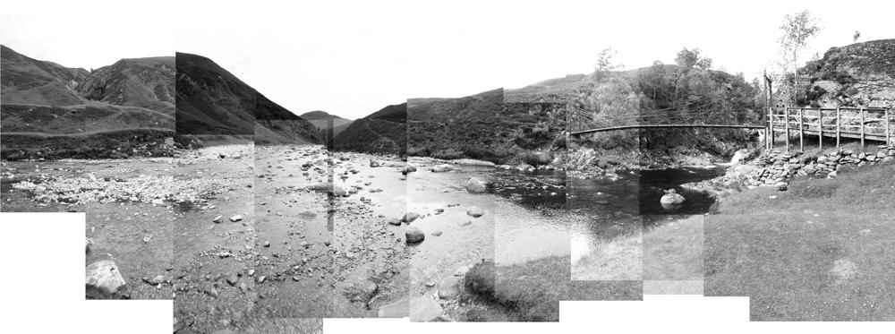 Falls of Tarf.  Copyright Victoria Bernie