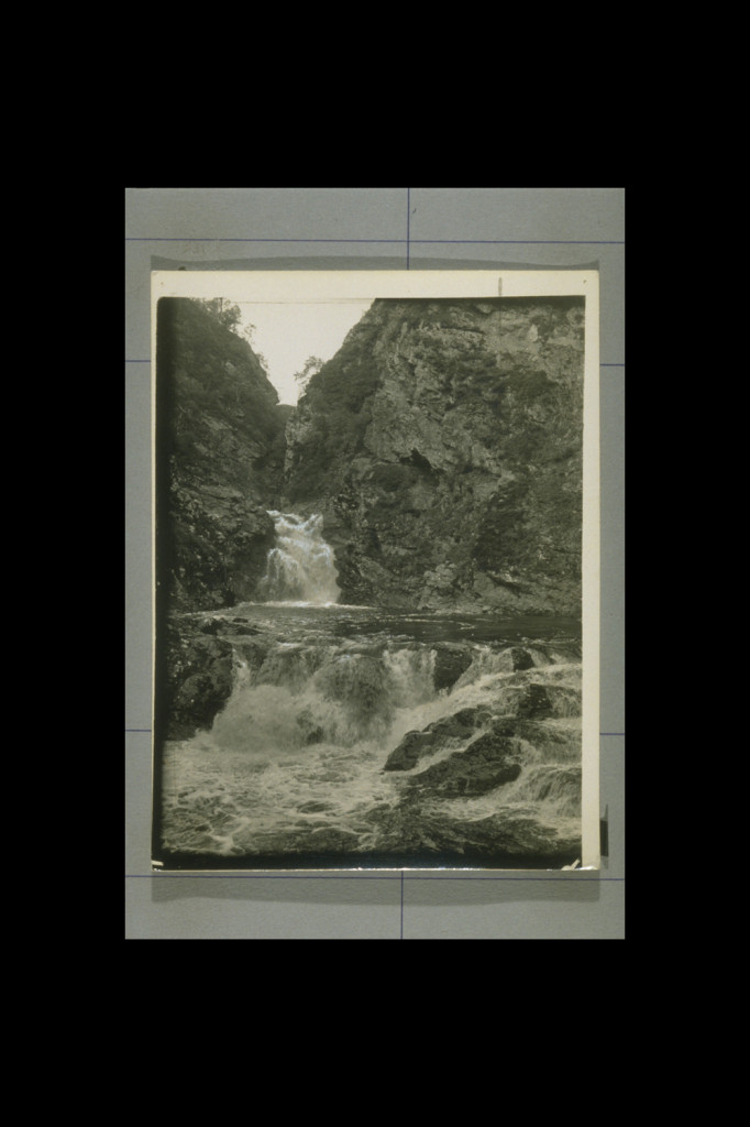 Falls of Tarf, Glen Tilt (JV-A-3406) Courtesy of the University of St Andrews Library http://www.st-andrews.ac.uk/library/specialcollections/
