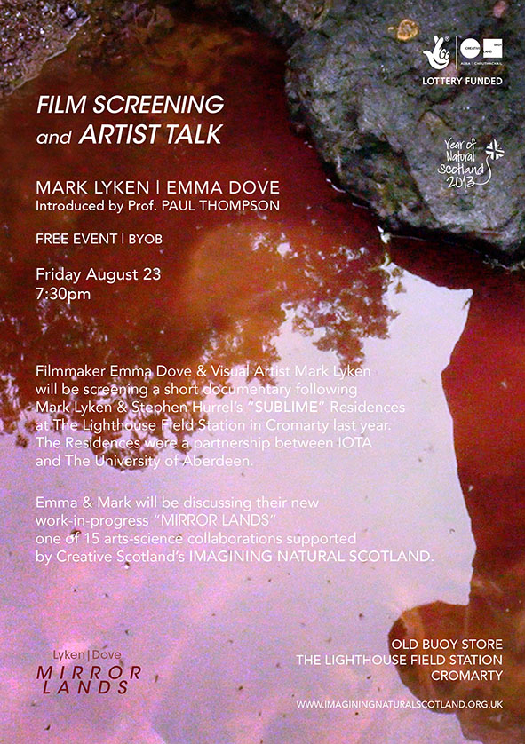 Mirror Lands Artists Talk Aug 23
